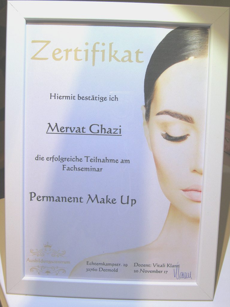Mervat Ghazi Permanent Make UP Estaetix Ebstorf Lüneburger Heide